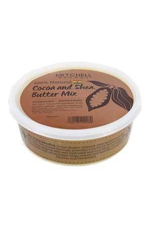 [Mitchell-box#8] Shea Butter with Cocoa & Shea Mix (8oz) -jar