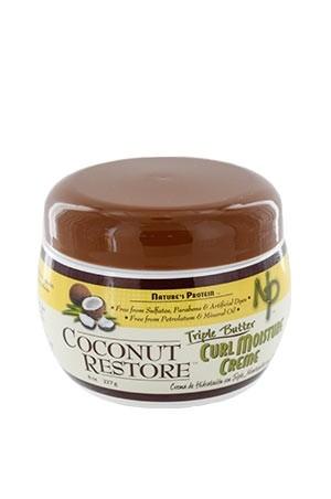 [Nature's Protein-box#11] Coconut Restore Curl Moisture Creme (8 oz)