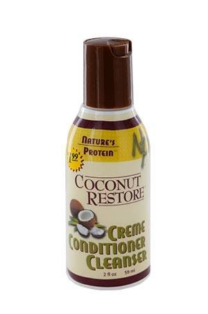 [Nature's Protein-box#15] Coconut Restore Creme Conditioner Cleanser (2oz)