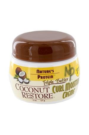 [Nature's Protein-box#17] Coconut Restore Curl Moisture Creme (2 oz)