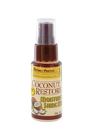 [Nature's Protein-box#18] Coconut Restore Moisture & Shine Mist (1 oz)
