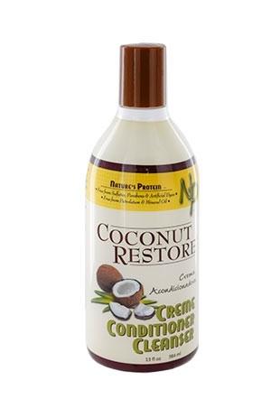 [Nature's Protein-box#9] Coconut Restore Creme Conditioner Cleanser (13 oz)