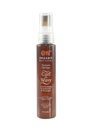 [Nextimage-box#30] ON Curl-N-Wavy Detangler - Argan Tree (2oz)