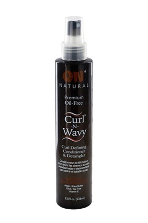 [NextImage-box#61]  ON Natural Black Castor Curl-Wavy Detangler (8 oz)