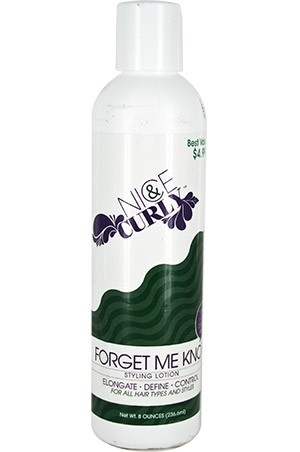 [Nice & Curly-box#5] Forget Me Knot Styling Lotion (8 oz)