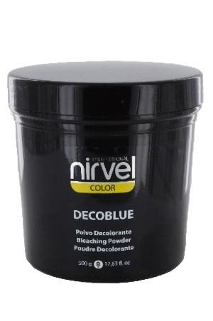 [Nirvel-box#06] Nirvel Decoblue Bleaching Powder (17.63 oz)