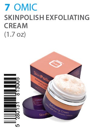 [OMIC-box#7] SkinPolish Exfoliating Cream (1.7oz)