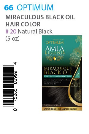 [Optimum-box#66] Amla Legend Miraculous Black Oil HC [20 Natural B]