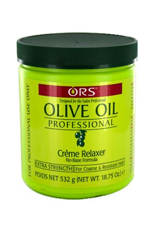 [Organic Root-box#6] Olive Oil Creme Relaxer(18.75oz)-Extra Strength