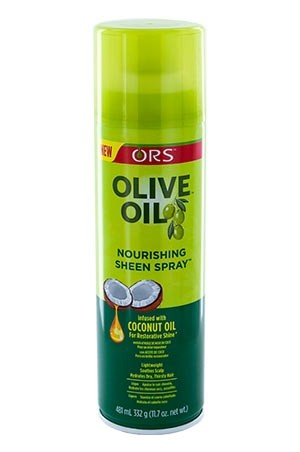[Organic Root-box#21] Olive Oil Sheen Spray-15.4oz