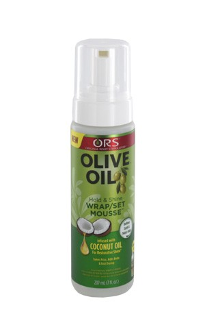 [Organic Root-box#30] Olive Oil Wrap/Set Mousse -7oz