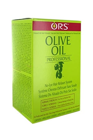 [Organic Root-box#3] Olive Oil Relaxer Twin pak-Normal