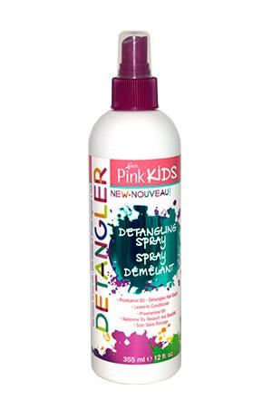 [Pink-box#66] Pink Kids Detangling  Spray (12oz)