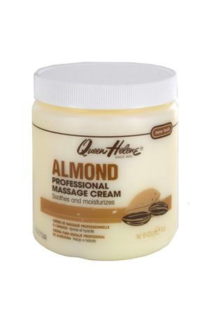 [Queen Helene-box#50] Professional Almond Scented Massage Cream (15 oz)