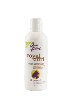 [Queen Helene-box#60] Royal Curl Curl Smoothing Oil (4 oz)