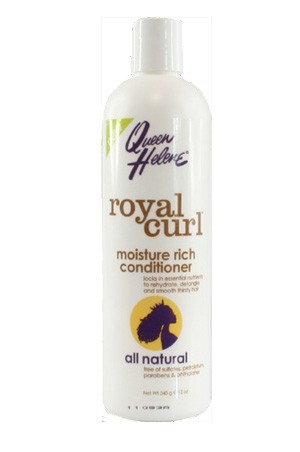 [Queen Helene-box#62] Royal Curl Moisture Rich Conditioner (12 oz)