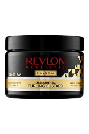 [Revlon-box#18] Black Seed Oil Curling Curstard (10.1 oz)