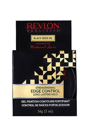 [Revlon-box#21] Black Seed Oil Edge Control (2 oz)