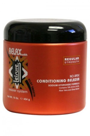 [Leisure-box#21] No Base Conditioning Relaxer - Regular (16oz)