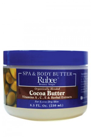 [Rubee-box#1] Spa & Body Butter Organically Blended Cocoa Butter (8.5 oz)