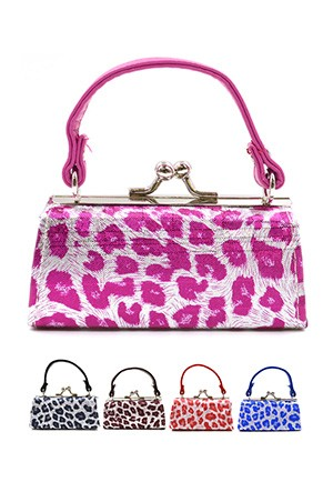 Coin Mini Purse w/ Handle (Asst) #SB10A66 - pc