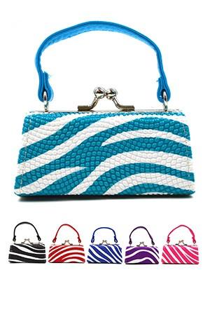 Coin Mini Purse w/ Handle (Asst) #SB10A95 - pc