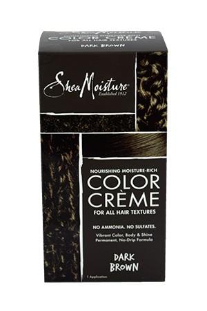 [Shea Moisture-box#86] Moisture-Rich Color Creme Kit #Dark Brown