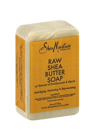 [Shea Moisture-BOX#88] Raw Shea Butter Soap (8 oz)