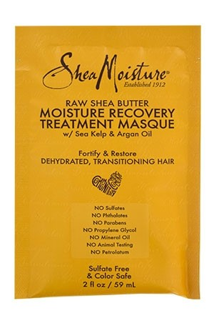 [Shea Moisture-BOX#97] Raw Shea Butter Masque Pack-Dehydrated,Traditional Hair [6pk/ds]-ds