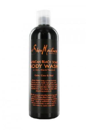 [Shea Moisture-box#14] Africa Black Soap Shea Butter Wash (13oz)