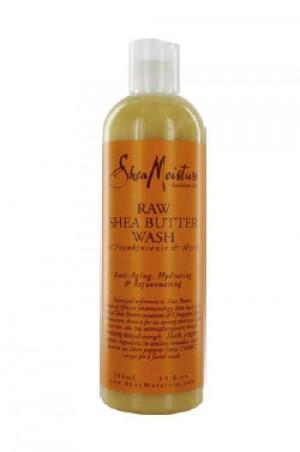 [Shea Moisture-box#20] Raw Shea Butter Wash (13oz)