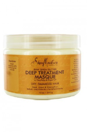 [Shea Moisture-box#25] Raw Shea Butter Deep Treatment Masque(12oz)