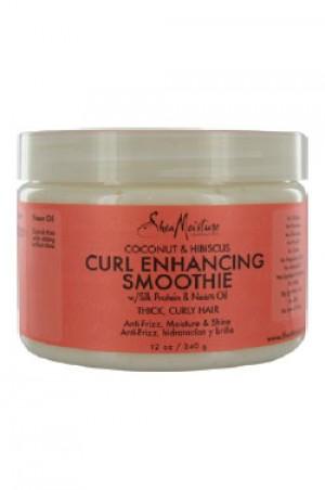 [Shea Moisture-box#30] Coconut & Hibiscus Curl Enhancing Smootie(12oz)