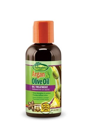 [Sofn'free-box#35] Grohealthy  Argan & Olive Oil Oil Treatment(4 oz)