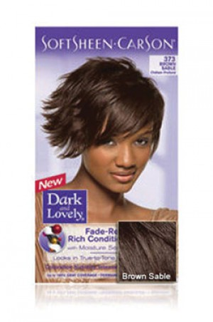 [Dark & Lovely-box#4] Soft Sheen Carson-#373 Brown Sable
