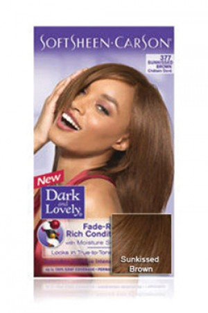 [Dark & Lovely-box#4] Soft Sheen Carson-#377 Sun Kissed Brown