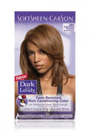 [Dark & Lovely-box#4] Soft Sheen Carson-#380 Chestnut Blonde