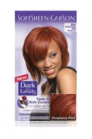 [Dark & Lovely-box#4] Soft Sheen Carson-#394 Vivacious Red