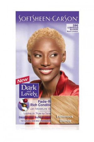 [Dark & Lovely-box#4] Soft Sheen Carson-#396 Luminous Blonde