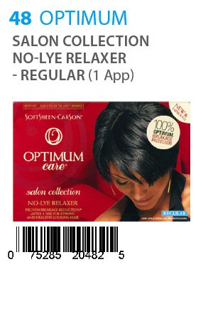 [Optimum Care-box#48] Salon Collection No-Lye Relaxer - Regular (1app)