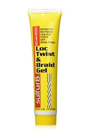 [Sulfur 8-box#17] Lock Twist & Braid Gel (6 oz)