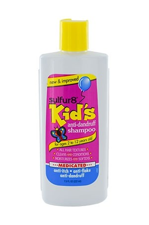 [Sulfur 8-box#5] Anti-Dandruff kid's Shampoo (7.5 oz)