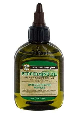 [Sunflower-box#48]  Difeel Premium Natural HairOil (2.5 oz)Peppermint