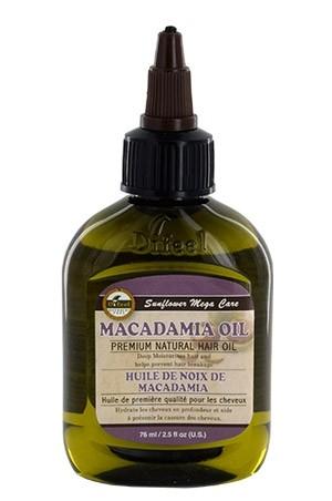 [Sunflower-box#50]  Difeel Premium Natural Hair Oil(2.5 oz)Macadamia