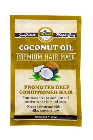 [Sunflower-box#61] Difeel Premium Hair Mask (1.75/12pc/ds) - Coconut