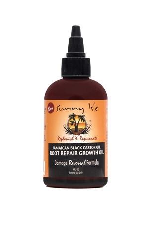 [Sunny Isle Jamaican Black Castor Oil-box#48] JBCO Root Repair Growth Oil (4 oz)