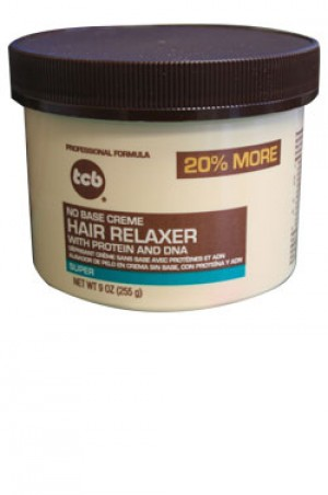 [Tcb-box#10] No Base Creme Hair Relaxer with Protein and DNA Super (9 oz)