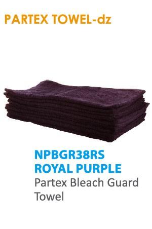Partex Beach Guard Towel #NPBGR38RS Royal Purple -dz