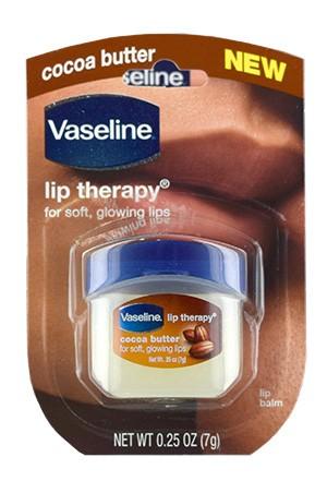 [Vaseline-box#4] Lip Therapy Jar Cocoa Butter (0.25oz)