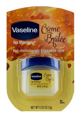 [Vaseline-box#5] Lip Therapy Jar Creme Brulee (0.25oz)